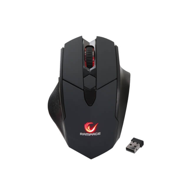Rampage Hawker SMX R12 Draadloze Gaming Muis 4800 dpi